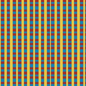 plaid amarillo