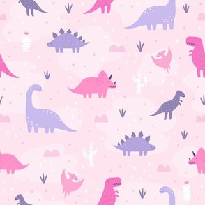 Dinos in pink