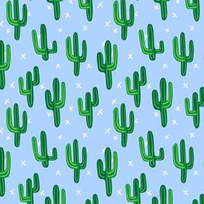 Cactus, Blue