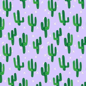 Cactus, Purple