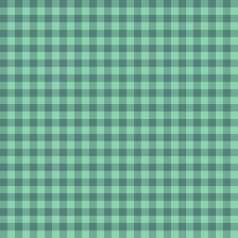 JP12 Tiny Hunter Green Buffalo Plaid fabric by maryyx on Spoonflower - custom fabric