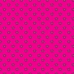 Atomic Dots_Bright Pink