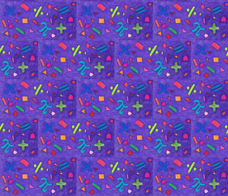 Math World fabric by kate's_kwilt_studio on Spoonflower - custom fabric
