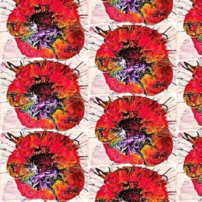 Abstract Poppy