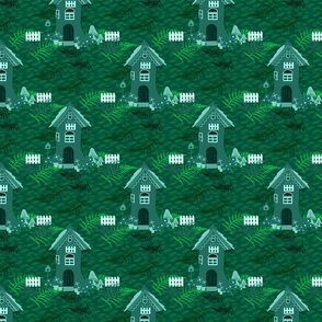 Elf house in the Emerald Forest