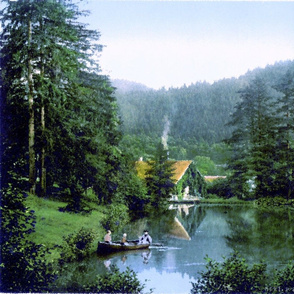 Hartz Mountains, Germany 1890s-27x18