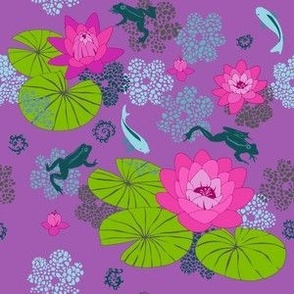The Lily Pond (purple)