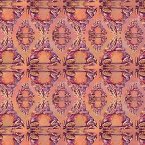 Orange Frog Carpet