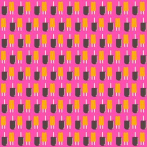 Icy Orange and Fudge-pink