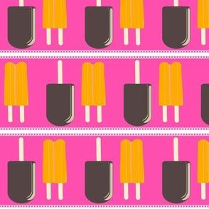 Icy Orange _ Fudge-lacy pink