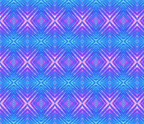 Cool Rippled Diamonds fabric by just_meewowy_design on Spoonflower - custom fabric