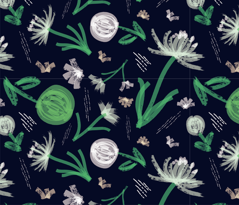 bloom flower, Nature Made fabric by alpinist on Spoonflower - custom fabric