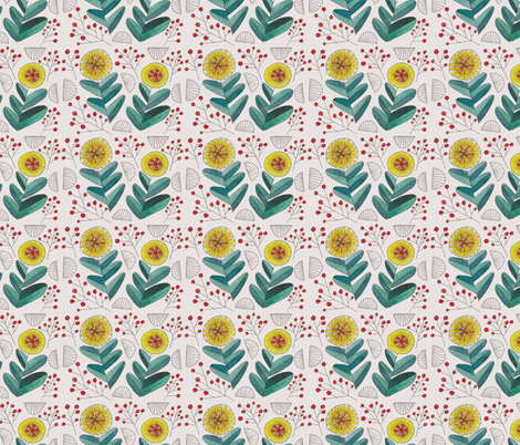 redballs fabric by spring_bird on Spoonflower - custom fabric