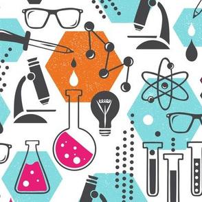 Chemistry Lab - Modern Girl