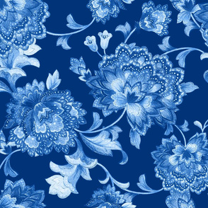 Blue Chintz invert