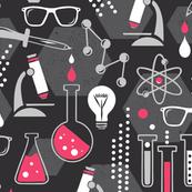 Chemistry Lab - Black & Pink
