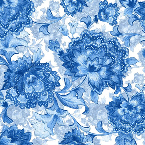 Blue ChintzB150