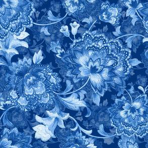 Blue ChintzB150invert