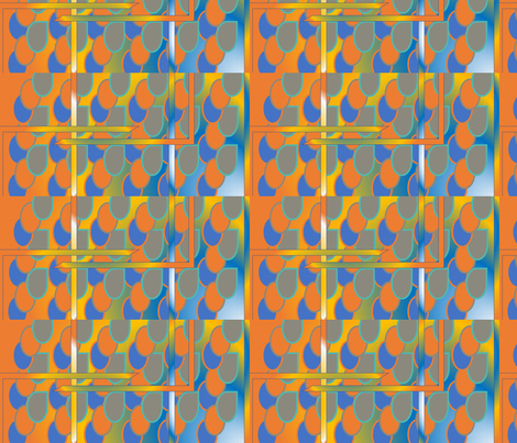 Egg drops fabric by genisis on Spoonflower - custom fabric