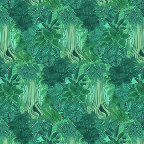 the magic emerald forest