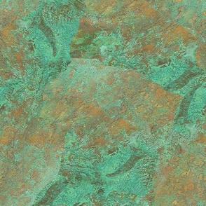 Verdigris Patched Texture