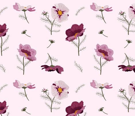 Florrie Morning fabric by onesweetorange on Spoonflower - custom fabric
