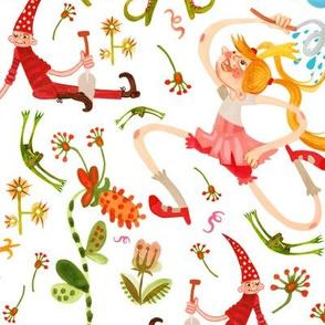Princess, Frogs and lazy Dwarfs