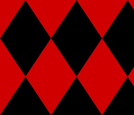 Red Black Harlequin Wallpaper Elaphus House Spoonflower