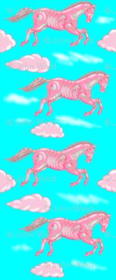Pretty Pink Robohorse