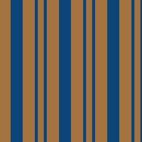 JP15 - Steel Blue and Tan Rhythmic Stripes