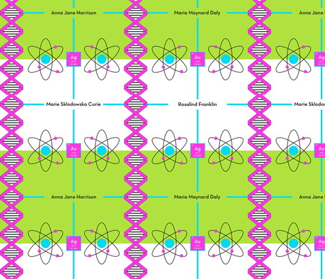 Atomic Girls fabric by audrey_brennan on Spoonflower - custom fabric