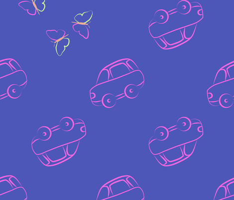 my favourite cars fabric by vika_chumak on Spoonflower - custom fabric