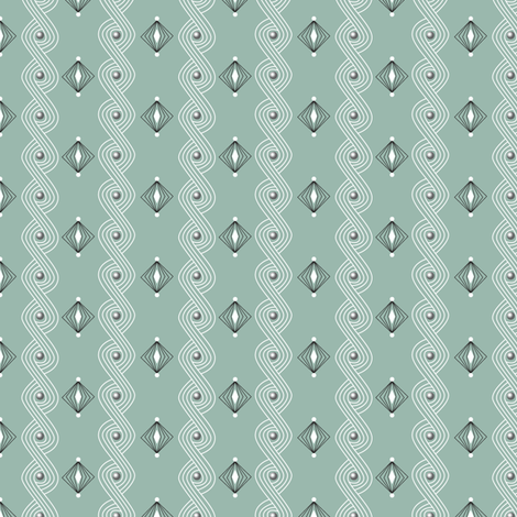 Icing on the Cake* (Camouflage) || diamonds frosting waves swirls sprinkles holiday christmas wedding birthday decoration decorating stripes  fabric by pennycandy on Spoonflower - custom fabric