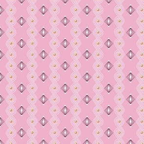 Icing on the Cake* (Pink Cow) || diamonds frosting waves swirls sprinkles holiday christmas wedding birthday decoration decorating stripes pastel
