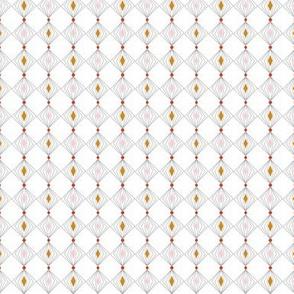 Diamond Tinsel* (Mona) || diamonds polka dots ornament christmas garland wire stripes circles holiday