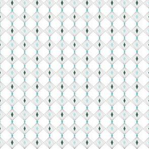 Diamond Tinsel* (Polymer) || geometric diamonds polka dots ornament christmas garland wire stripes circles holiday
