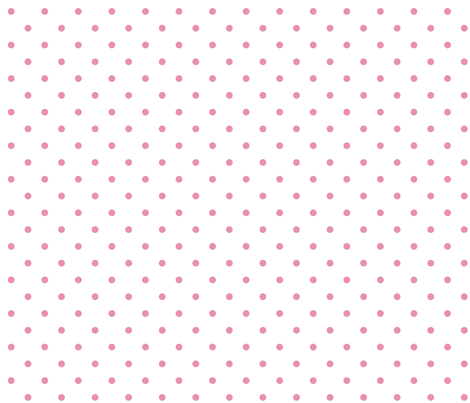 Pink Polka Dot fabric by randomtuesday on Spoonflower - custom fabric