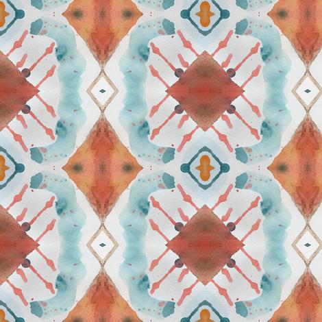 Desert Air 3 fabric by susaninparis on Spoonflower - custom fabric