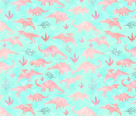 Rmint-and-coral-dinosaurs-repeating_shop_preview