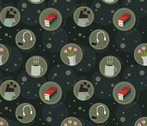 A Few of my Favorite Things fabric by amy_maccready on Spoonflower - custom fabric