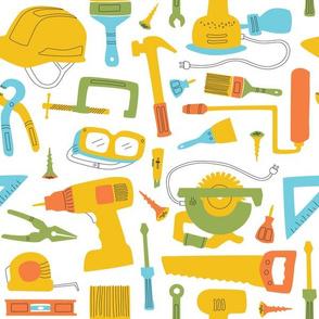 Maker Tools, Large - White