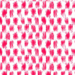Checkered Magenta Brush for Bauhaus