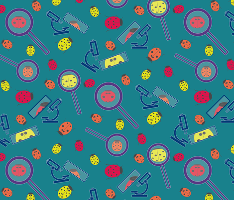 Up Close fabric by lucyconway on Spoonflower - custom fabric