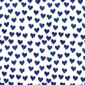 hearts in navy