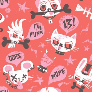 punky pets for awesome princess by unPATO