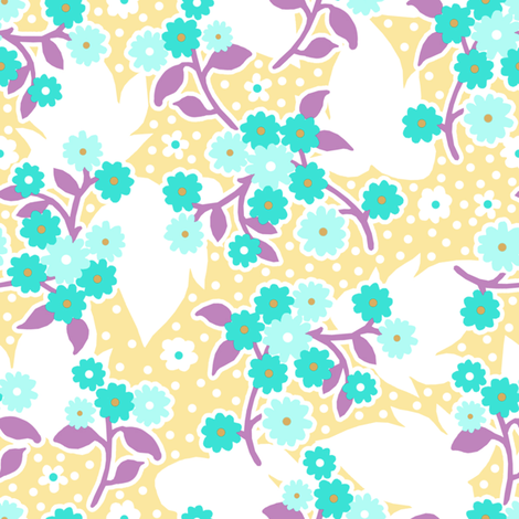 Lola buttercup 1 fabric by lilyoake on Spoonflower - custom fabric
