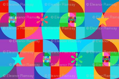Awesome Fibonacci Spirals