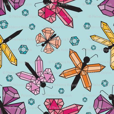 Fluttering Jewels