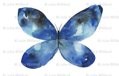 Blue Butterfly No. 2