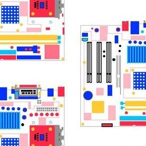 Mondrian Motherboard